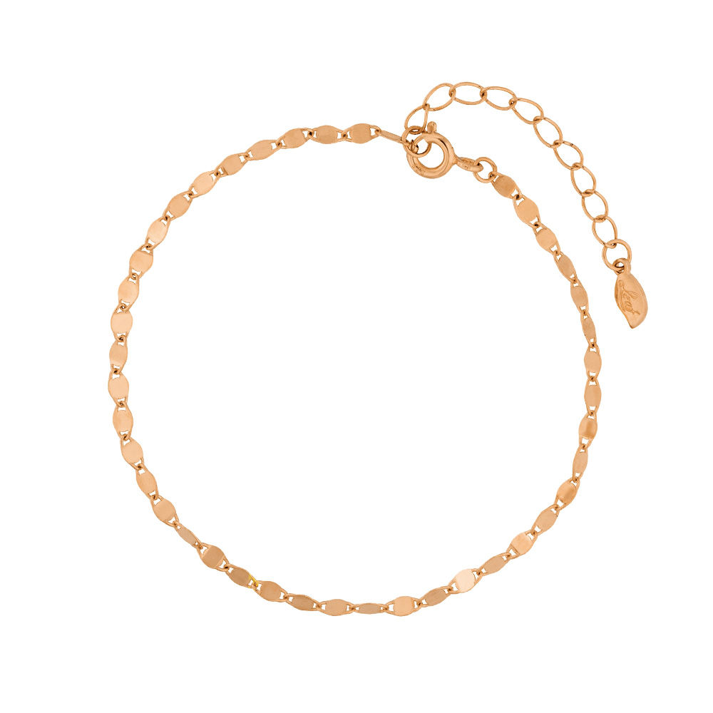 Armkette Little Shiny,18 K Rosegold vergoldet