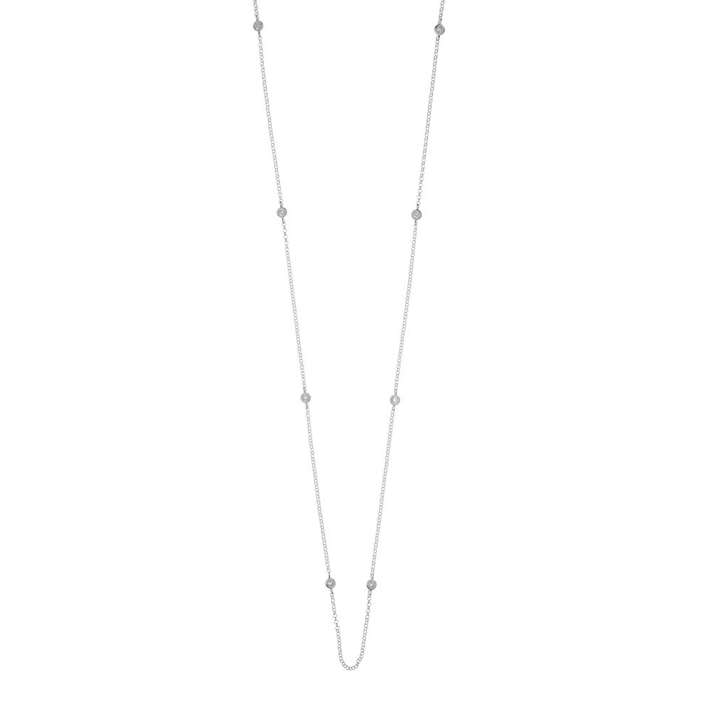 Halskette Pure Silber - Leaf - Schmuck & Accessoires
