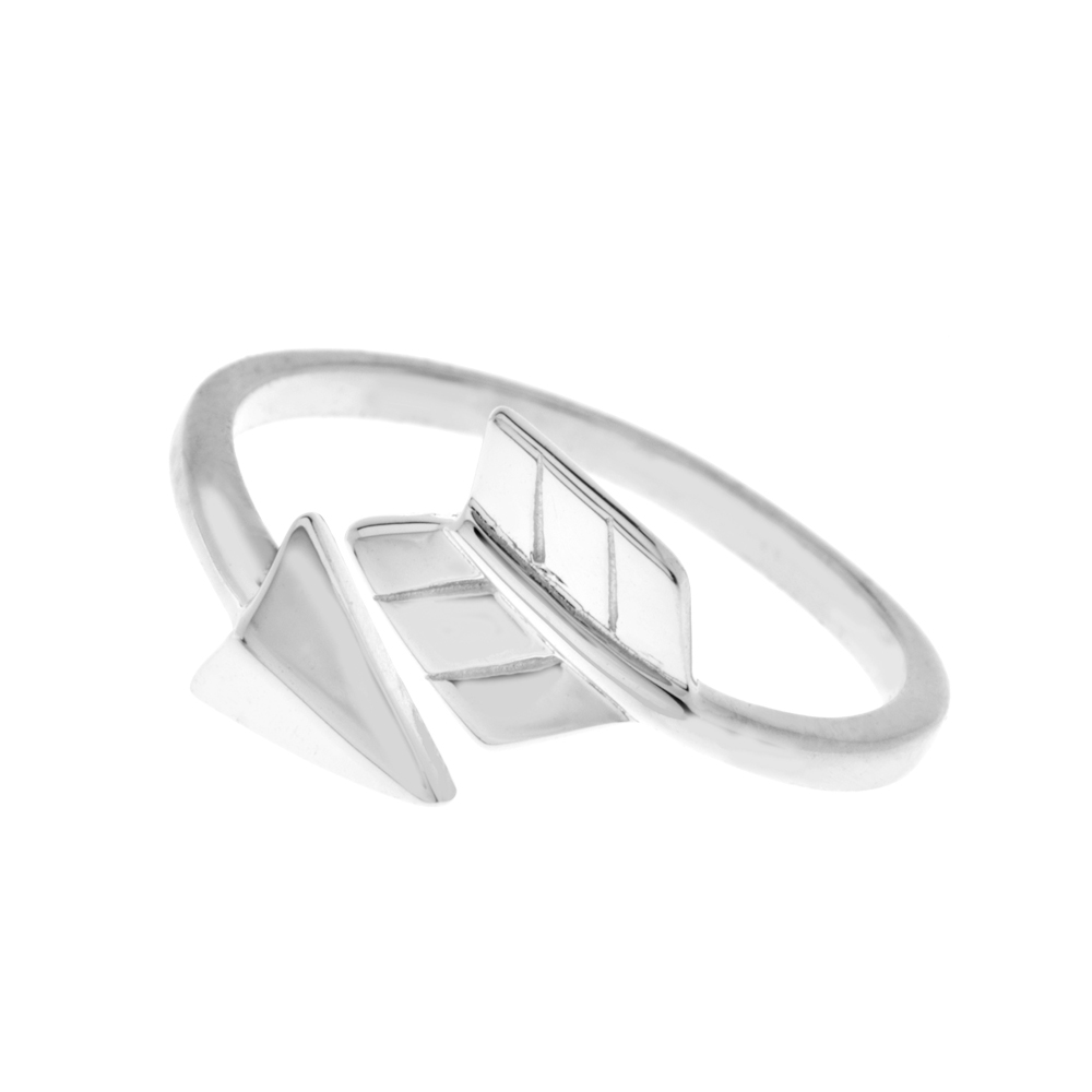 Ring Arrow, Silber