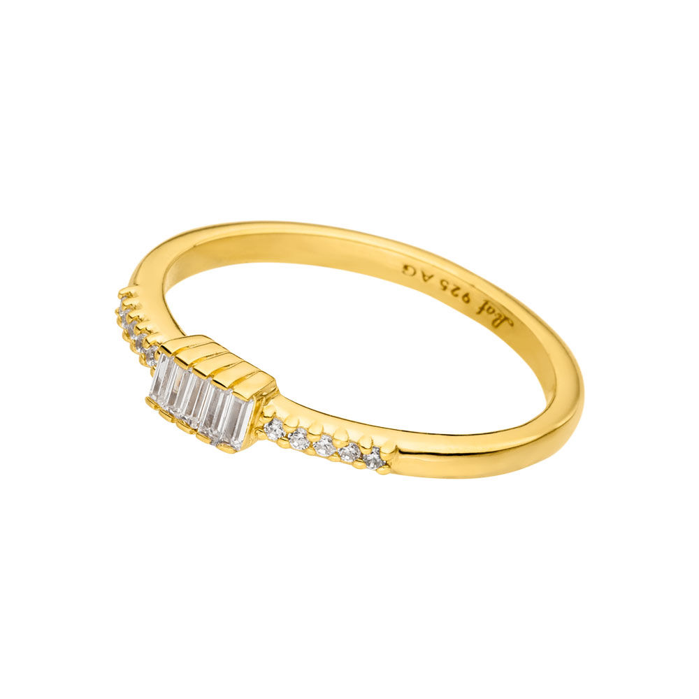 Ring SPARKLE, 18 K Gelbgold vergoldet