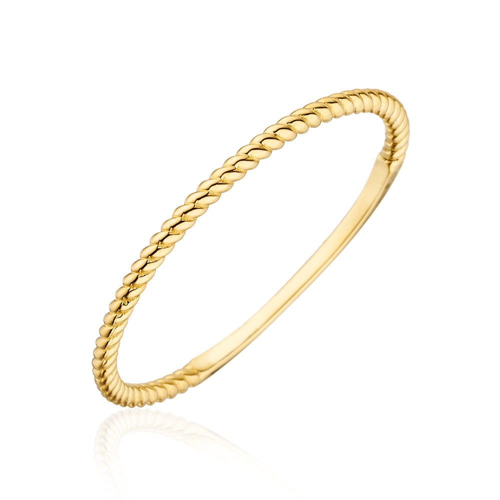 Ring Twist, 18 K Gelbgold