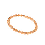 Ball-Ring, 18 K Rosegold vergoldet