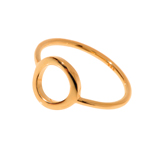 Circle Of Life Ring, 18 K Rosegold vergoldet