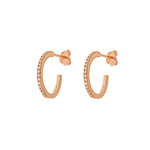 Creole Circle of Life, mini, 18 K Rosegold vergoldet