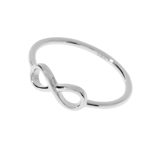 Infinity Ring, 925 Sterlingsilber