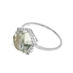 Ring Crystal, Silber