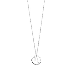 Halskette Steinbock, 925 Sterlingsilber