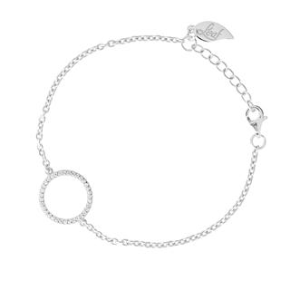 Armband Circle Of Life, 925 Sterlingsilber, rhodiniert
