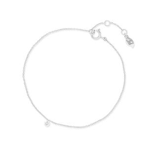 Armkette Pure Diamanten, 18 K Weißgold