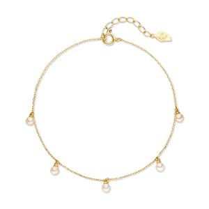 Armkette Pearls, 18 K Gelbgold
