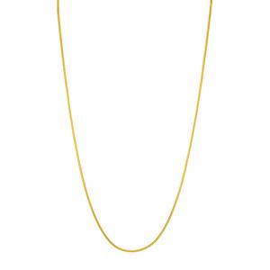Choker Snake, 43 cm, 18 K Gelbgold vergoldet