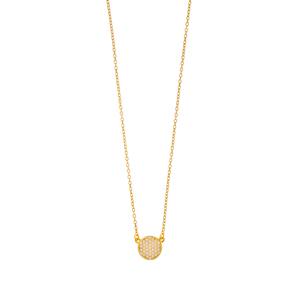 Halskette Pavé mit Zirkonia