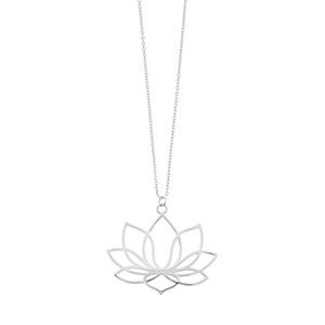 Halskette Lotus, lang