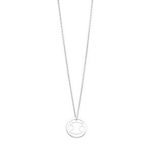 Halskette Krebs, 925 Sterlingsilber
