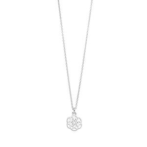 Halskette Flower of Life, 45cm, 925 Sterlingsilber
