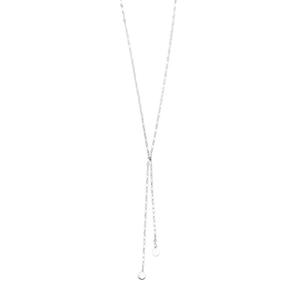 Y-Halskette Shiny, 925 Sterlingsilber