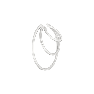 Earcuff Triple Ring, 925 Sterlingsilber