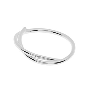 "Ring ""Tupe"", 925 Sterlingsilber"